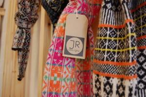 Fairisle scarves in Scottish supersoft lambswool